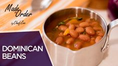 Easy Dominican Beans | Habichuelas Guisadas Dominicana | Made to Order | Chef Zee Cooks - YouTube