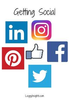 Getting Social | Leggy Heights
