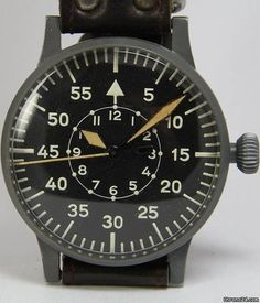 "1943 Laco -DUROWE 23883.  I'm adding a WWII Luftwaffe Watch to my  ""must-have before I die"" list."