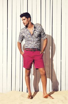 Miguel Iglesias Models Colorful Designs for Calibres Spring/Summer 2012/13 Lookbook