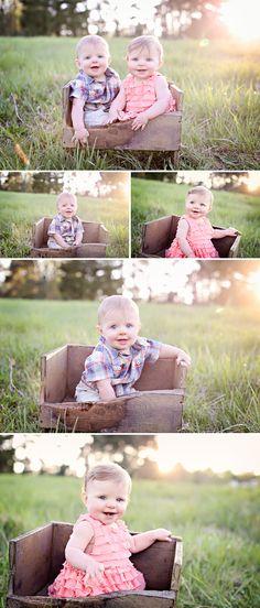 Like the box... Beautiful Family with Twins. (Charlottesville, Richmond, Staunton Newborn and Family Photographer)