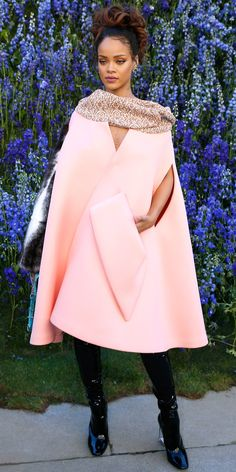 See Jennifer Lawrence, Rihanna, and More Celebrities Dazzle in Dior - Rihanna, 2015 from InStyle.com