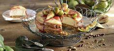 Cheesecake Φούρνου με Ανθότυρο, Σύκα και Γλυκό Κρασί
