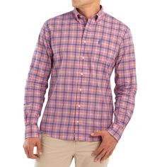 b73ac4bc Country Club Prep · Products · Oscar Hangin' Out Button Down Shirt by  Johnnie-O