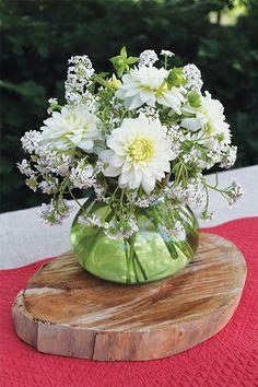 Designed in the Rosie Posie vase