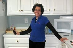 Before and After: Maeve's Method helps Deb create calm in her chaotic kitchen.