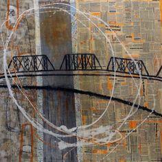 Galerie mp tresart   Galerie d'art contemporain » 45° 29′ 26″ N 73° 31′ 57″ W (inspirée du pont Victoria)   Mélanie Poirier