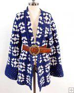 Granny Square Coat Crochet Pattern