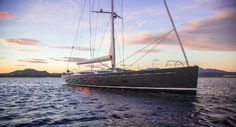 Great shot of @BalticYachts latest launch #INUKSHUK  www.rsb-rigging.com #RSBRiggingSolutions