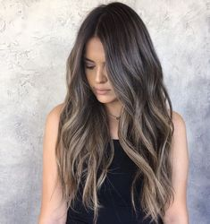 Are you going to balayage hair for the first time and know nothing about this technique? We've gathered everything you need to know about balayage, check! Brown Ombre Hair, Ombre Hair Color, Hair Color Balayage, Hair Highlights, Caramel Highlights, Ash Brown Hair Balayage, Ash Brown Hair With Highlights, Ash Brown Balayage, Sombre Hair