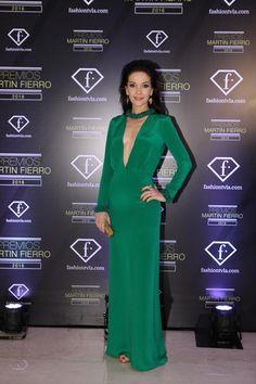 Natalia Oreiro: diosa de verde en los Martín Fierro 2016   Fashion TV