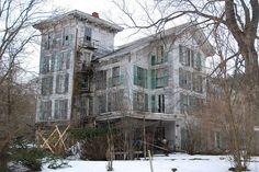 A beautiful abandoned house