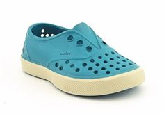 We've spotted these trendy toddler shoes at spraygrounds and beaches. #watershoes #summer #beach