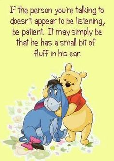 52 Ideas quotes disney eeyore winnie the pooh Pooh Winnie, Winnie The Pooh Quotes, Cute Quotes, Best Quotes, Funny Quotes, Qoutes, Quotations, Pooh Bear, Tigger