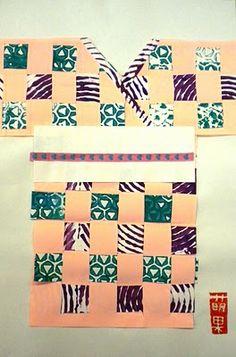 weaving and kimono