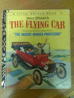 The Flying Car - Sydney Edition 1973 (Little Golden Book)