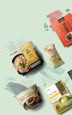 디파이 포트폴리오 이마트 PEACOCK 섬네일 이미지입니다. Restaurant Menu Design, Food Packaging Design, Social Media Design, Web Banner, Cookies Et Biscuits, Advertising Design, Design Reference, Food Pictures, Web Design
