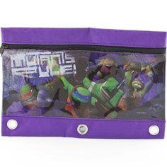 1 X Teenage Mutant Ninja Turtles Pencil Pouch Case