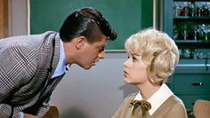 "Jerry Lewis and Stella Stevens in ""The Nutty Professor"" Jerry Lewis, The Nutty Professor 1963, Stella Stevens, You Are My Hero, Pretty Blue Eyes, Dean Martin, Mystery Novels, Classic Films, Old Movies"