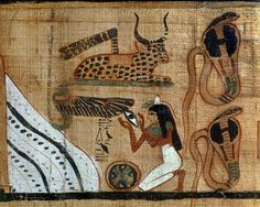 a history of funerary papyrus of ani in ancient egypt Life in ancient egypt funerary customs over the more than three thousand years of ancient egypt's history many spells and rituals were designed to ensure a favorable judgment and were written in the papyrus or linen book of the dead all.