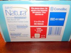 ConvaTec Surfit Natura Stomahesive 411805 Large  #Convatec