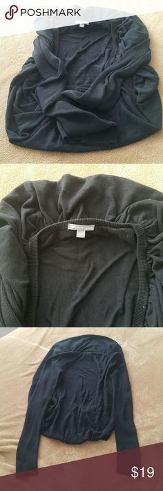 Black Sweater Very stylish, modern black Sweater, no rips, no stain ,fit more like small,medium James Perse Sweaters Cardigans