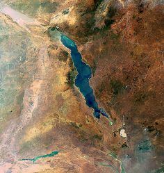 Lake Malawi, Africa by Richard Petry @TheMapAddict, via Flickr