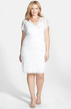 Marina Tiered Lace Dress (Plus Size) | Nordstrom