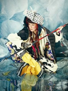 Polymath Fashion Textile Pattern Print Trend and Colour. Ethnic Fashion, Asian Fashion, Fashion Art, Vogue Korea, Tropic Jungle, Fashion Portfolio, Photoshoot Inspiration, Asian Style, Fashion Photography