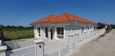 Casa pe parter in Corbeanca | CoArtCo House Foundation, Design Case, Architect Design, House Plans, Doors, Outdoor Decor, Home Decor, South Africa, Tips