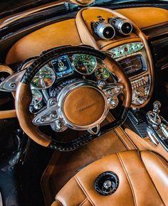 Pagani car interior
