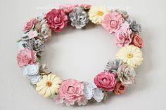 wreath4 by krafting kelly, via Flickr