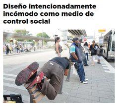 Diseño intencionadamente incómodo como medio de control social / @yorokobumag   #socialdesign #socialspaces