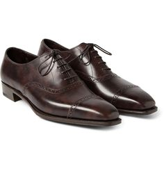 George Cleverley - Anthony Leather Oxford Brogues | MR PORTER
