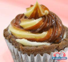 Receitas - Mini Cupcake Recheado | Xamego Bom