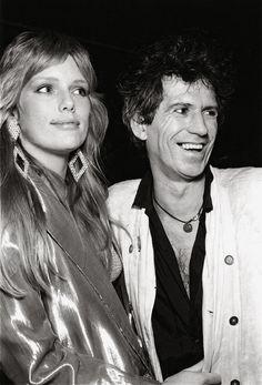 Area: 1983 – 1987 - Patti Hansen and Keith Richards11