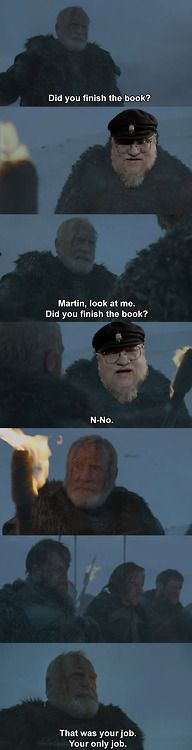 You had one job, Martin