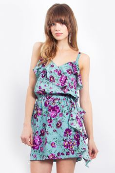 30+ party dresses to stand out at your next soiree #luckyduck Love Song Floral Dress