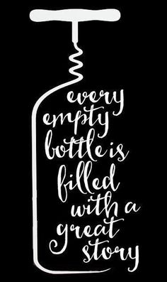 Every Empty Bottle is filled with a great story