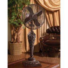 Wonderful Deco Breeze Cantalonia Twelve Inch Table Fan