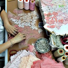 MONIQUE LHUILLIER's Workspace - PANTONE Fashion Color Report SPRING 2015