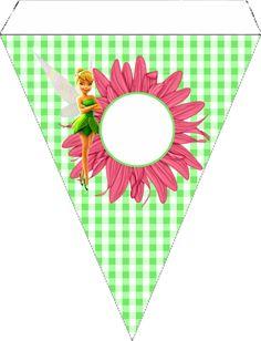 Tinker Bell: Free Printable Birthday Party Kit.
