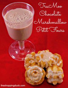 TruMoo Chocolate Marshmallow Petit Fours #TruMoo