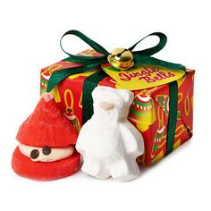 Jingle Bells Wrapped Gift | @giftryapp
