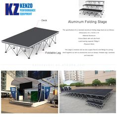 Portable Folding Stage/Event stage/Stage Riser