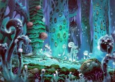 Photo of The forest for fans of Nausicaa of the Valley of the Wind.