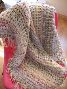 Tunisian Crochet Blanket by djonesgirl