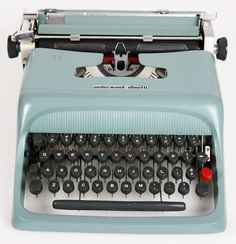 typewriters.....we sure have come a long way!!