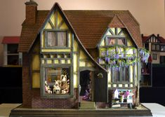 North Wales Doll House and Miniaturist Club Exhibition Jan 17th to Feb 17th 2013