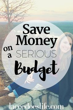Saving Money While on a Budget – Lacee Does Life - Finance tips, saving money, budgeting planner Money Budget, Money Tips, Money Saving Tips, Budget Travel, Saving Ideas, Living On A Budget, Family Budget, Frugal Living, Money Challenge